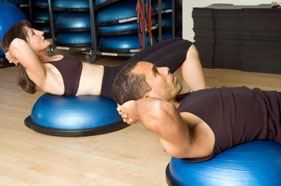 Exercise Ball Example: BOSU Ball