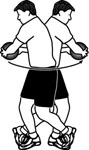 Exercise Ball Example: Medicine Ball: Standing Russian Twist