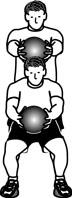 medicine ball goblet squats