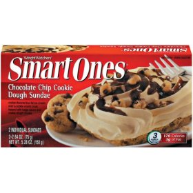 Smart Ones Chocolate Chip Cookie Dough Sundae