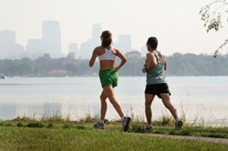 Lose Weight by Running: City