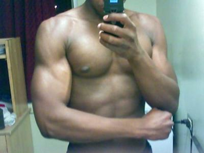 I'm going to be the worlds next greatest body builder.