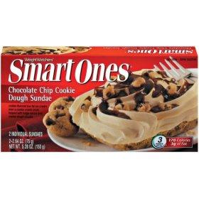 Smart Ones Chocolate Chip Cookie Dough Sundae